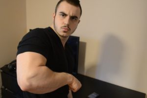 how to build big forearms at home